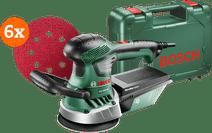 Bosch PEX 400 AE Schuurmachine + schuurschijf (5x)