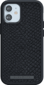 Nordic Elements Njord Apple iPhone 12 Mini Back Cover Leather Gray