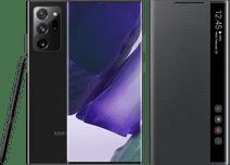Samsung Galaxy Note 20 Ultra 256GB Black 5G + Samsung Clear View Book Case Black
