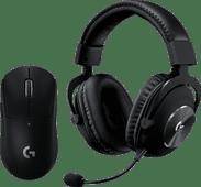 Logitech G PRO X Gaming Headset + Logitech G Pro X Superlight Wireless Gaming Mouse Black