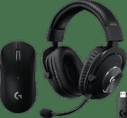 Logitech G PRO X Wireless LIGHTSPEED Gaming Headset +  Logitech G Pro X Gaming Mouse