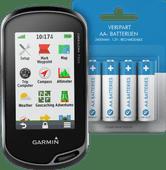 Garmin Oregon 750t  + Veripart Oplaadbare NiMH AA-batterijen 4 stuks