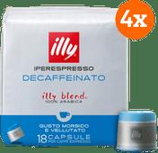 Illy IPSO home Caffeïnevrij 72 capsules