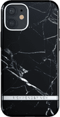 Richmond & Finch Black Marble Apple iPhone 12 mini Back Cover