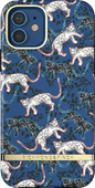 Richmond & Finch Blue Leopard Apple iPhone 12 / 12 Pro Back Cover