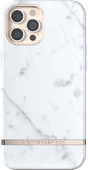 Richmond & Finch White Marble Apple iPhone 12 Pro Max Back Cover