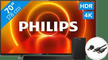Philips 70PUS7805 - Ambilight + Soundbar + HDMI kabel