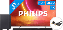 Philips 55OLED805 - Ambilight + Soundbar + HDMI kabel