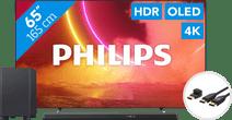 Philips 65OLED805 - Ambilight + Soundbar + HDMI kabel