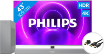 Philips 43PUS8505  - Ambilight (2020) + Soundbar + HDMI kabel