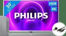 Philips 50PUS8505 - Ambilight (2020) + Soundbar + HDMI kabel