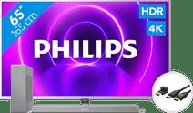 Philips 65PUS8505 - Ambilight (2020)+ Soundbar + HDMI kabel