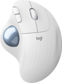 Logitech M575 ERGO Wireless Trackball Mouse White