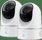 Eufy by Anker Indoor Cam 2K Pan & Tilt Duo Pack
