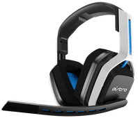 Astro A20 Wireless Gaming Headset for PS5, PS4, PC, Mac - White/Blue