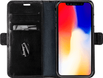 DBramante1928 Lynge Apple iPhone Xs Max 2-in-1 Cover Leer Zwart