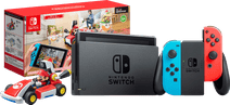 Nintendo Switch (2019 Upgrade) Rood/Blauw + Mario Kart Live: Home Circuit - Mario Set