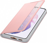 Samsung Galaxy S21 Clear View Book Case Pink