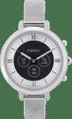 Fossil Monroe Hybrid HR FTW7040 Zilver