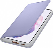 Samsung Galaxy S21 LED View Book Case Purple
