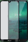 Azuri Tempered Glass Nokia 1.3 Screenprotector Rinox Armor Zwart