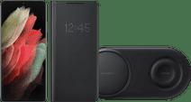 Starter Pack - Samsung Galaxy S21 Ultra 256GB Black 5G