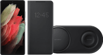 Starter Pack - Samsung Galaxy S21 Ultra 512GB Black 5G