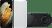Starter Pack- Samsung Galaxy S21 Ultra 512GB Silver 5G