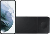 Samsung Galaxy S21 Plus 256GB Black 5G + Samsung Trio Wireless Charger 9W Black
