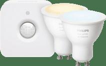 Philips Hue White Ambiance GU10 Duopack Bluetooth + Philips Hue Bewegingssensor