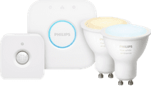 Philips Hue White Ambiance GU10 Duo Pack Bluetooth + Philips Hue Motion Sensor + Bridge
