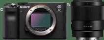 Sony A7C Black + FE 35mm f/1.8