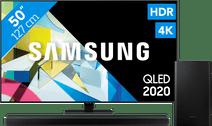 Samsung QLED 50Q80T + Soundbar