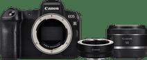 Canon EOS R + EF-EOS R Adapter + RF 50mm f/1.8 STM