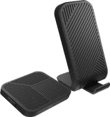 ZENS Modular Wireless Charger Base Station with Stand 15W + ZENS Modular Single Expansion