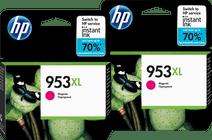 HP 953XL Cartridges Magenta Duo Pack