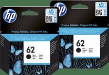 HP 62 Cartridges Black Duo Pack
