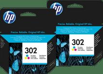 HP 302 Cartridges Color Duo Pack