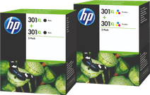 HP 301XL Cartridges Duo Combo Pack