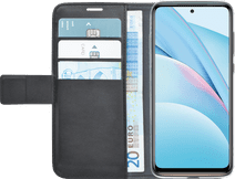 Azuri Wallet Xiaomi Mi 10T Lite Book Case Black