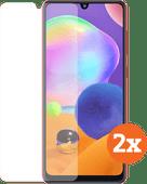 Azuri Tempered Glass Samsung Galaxy A31 Screenprotector Duo Pack
