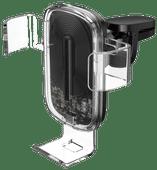 Baseus Universele Telefoonhouder Auto met Draadloos Opladen Roosterklem Luchtrooster