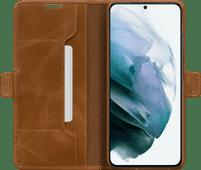 DBramante1928 Copenhagen Slim Samsung Galaxy S21 Book Case Leather Brown