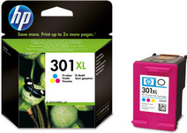 HP 301XL Cartridge Color