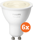 Philips Hue White GU10 Bluetooth 6-Pack