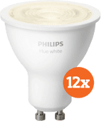 Philips Hue White GU10 Bluetooth 12-Pack