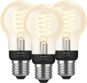 Philips Hue Filament Light White Standard E27 Bluetooth 3-pack