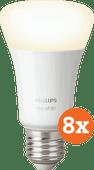 Philips Hue White E27 Bluetooth 8-Pack