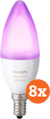 Philips Hue White and Color E14 8-pack