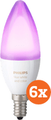 Philips Hue White and Color E14 6-pack